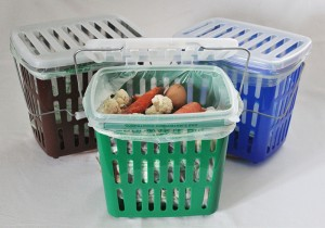 Bio.Box® kitchen food waste collection caddy